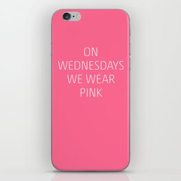 Mean Girls #8 – Pink iPhone Skin
