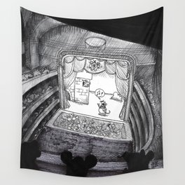 A Night at the Royal Opera Mouse Wall Tapestry