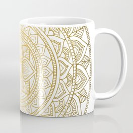 Gold Bali Mandala Coffee Mug