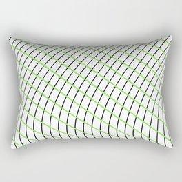 Wave Grid Rectangular Pillow