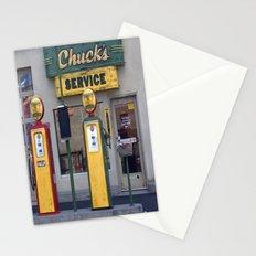 Old Service Station Stationery Cards