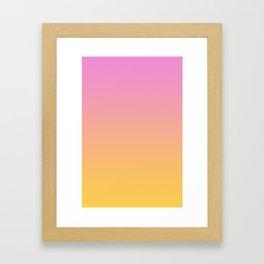 The Quiche Framed Art Print