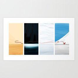 (the) Journey  Art Print
