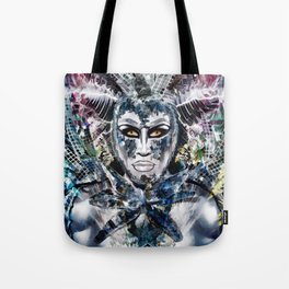 Close Encounters with Glen Alen in OvahFx - Art without a brush  Tote Bag