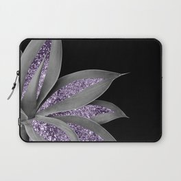Agave Finesse Glitter Glam #3 #tropical #decor #art #society6 Laptop Sleeve
