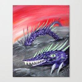 Tremor - Desert Sand Serpent  Canvas Print