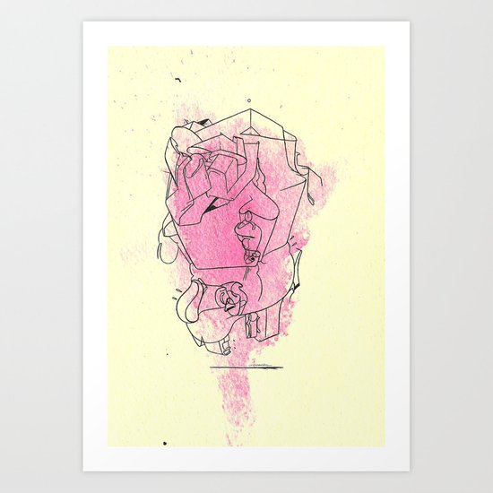 So it's not self-contained? Art Print
