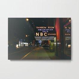 nyc 04 / nbc studios Metal Print