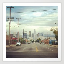 City of LA Art Print