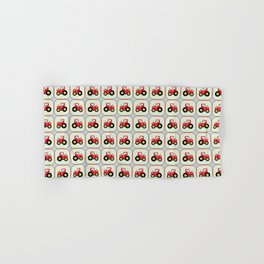Toy tractor pattern Hand & Bath Towel