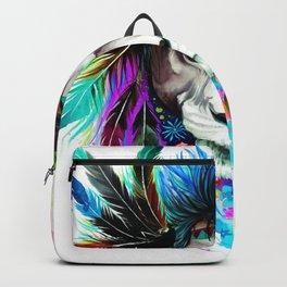 Hipster Lion Backpack
