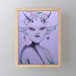 Fae Framed Mini Art Print