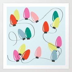 Holiday Lights Art Print