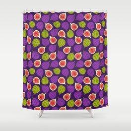 Figs in purple Shower Curtain