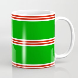 Christmas Stripes #2 Coffee Mug