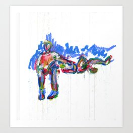 """Muka and Jill II."" Art Print"