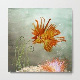 Ocean Deep Metal Print