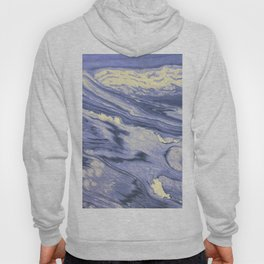 Lavender Marble With Cream Swirls Hoody