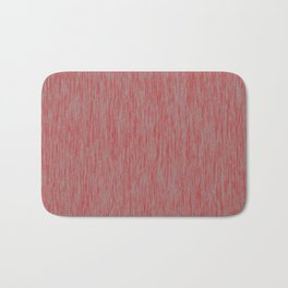 Red and Grey Bath Mat