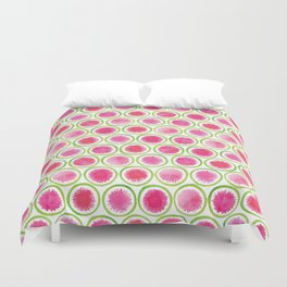 Watermelon Radish pattern Duvet Cover