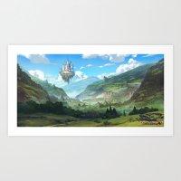 Lost Valley Art Print