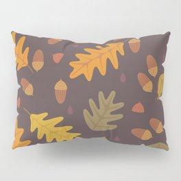 Oak Leaves dark Pillow Sham