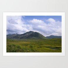 In The Valley - Alaska Landscape Art Print