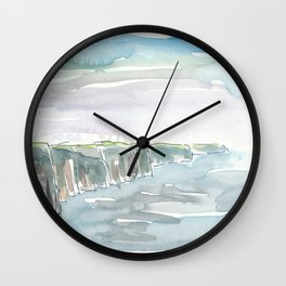 Ireland Cliffs of Moher County Clare Wall Clock
