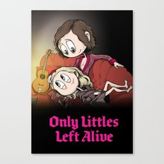 Only Littles Left Alive Canvas Print