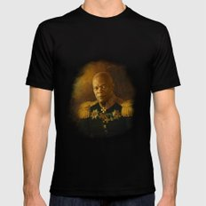 Samuel L. Jackson - replaceface LARGE Mens Fitted Tee Black