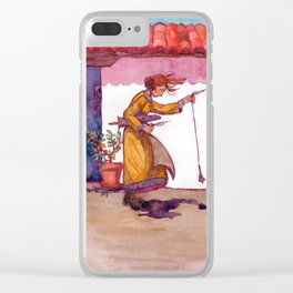 A Woolly Question Clear iPhone Case