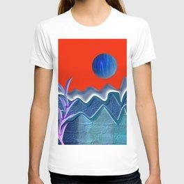 Mountain illustration T-shirt