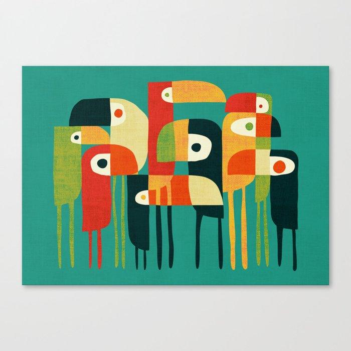 Toucan Leinwanddruck