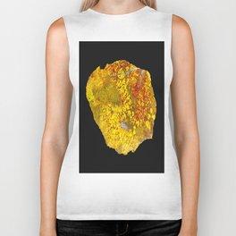 Cady Mountain Yellow Plume Agate Biker Tank