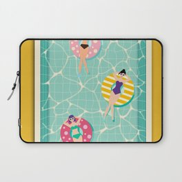 At The Pool Laptop Sleeve