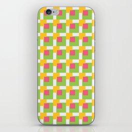 Squares Overlap II iPhone Skin