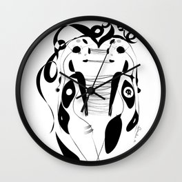 Soul to soul - Emilie Record Wall Clock
