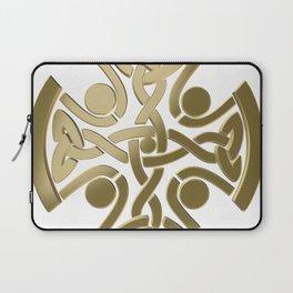 Celtic golden knot Laptop Sleeve