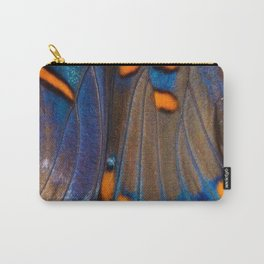 Butterfly Curve - Abstract Photographic Art by Fluid Nature Carry-All Pouch