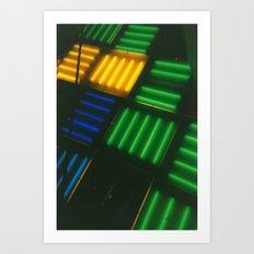 Crosshatch Art Print