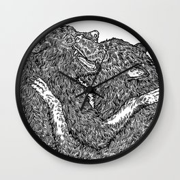 Beasts Wall Clock