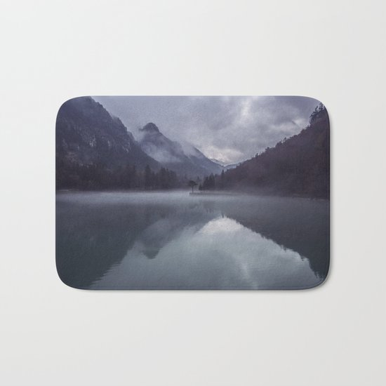 Wanderlust Forest on the Water Bath Mat