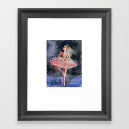 Sugar Plum Fairy Framed Art Print