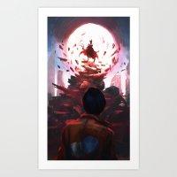 akira Art Prints featuring Akira by °thoOm