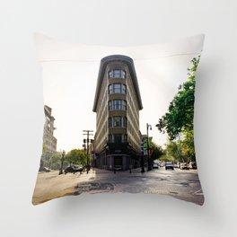 Remember Gastown... Throw Pillow