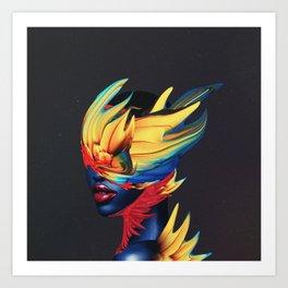Firestorm Art Print