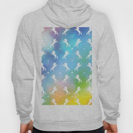 rainbow unicorn galaxy Hoody