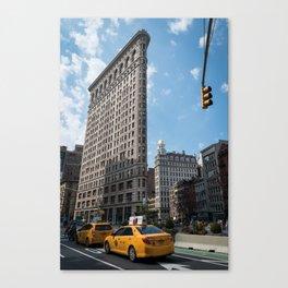Flatiron Building, New York City Canvas Print