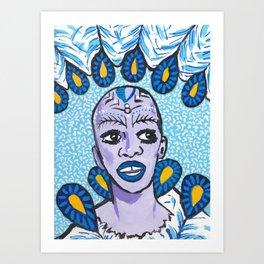 Cold Carnival Divas - Pinah Art Print