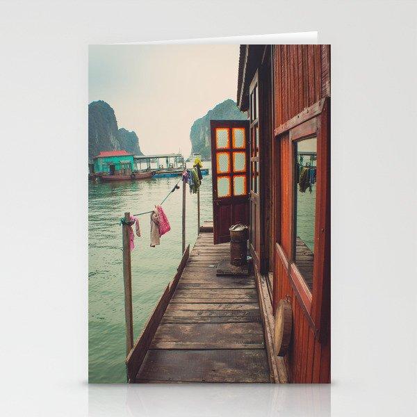Fisherman's Backyard Stationery Cards